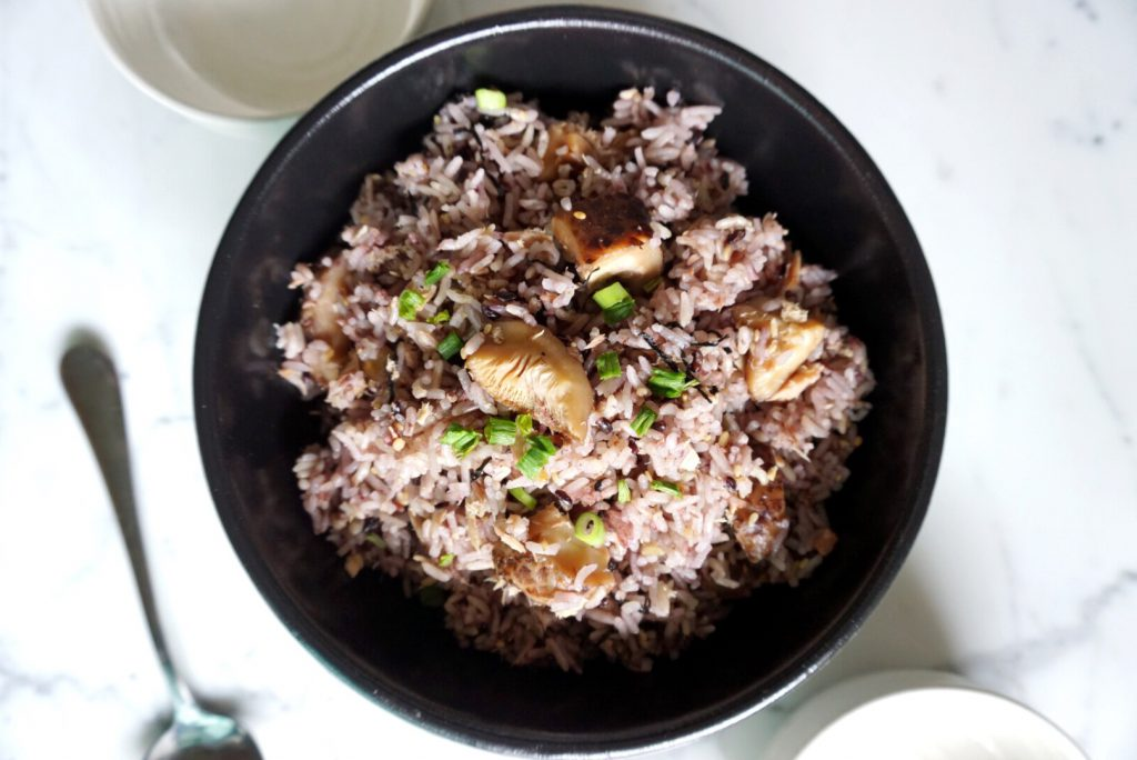 Simple Rice Cooker Meal