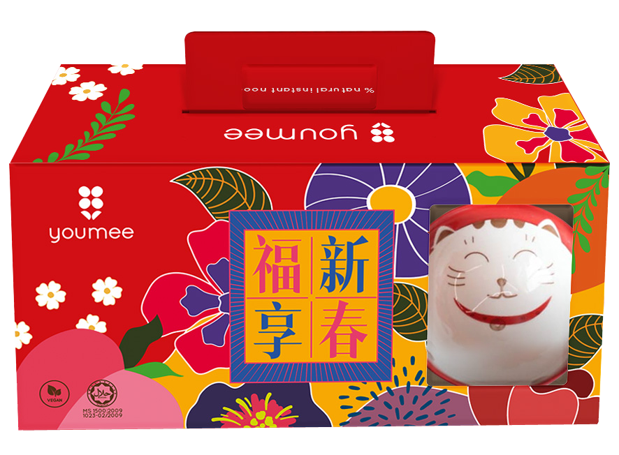 YOUMEE CNY LUCKY FORTUNE 招财得福 GIFT BOX SET